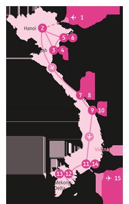 Private-Reisen mit 4 bis 6 Teilnehmer_Vietnam_Gibbon