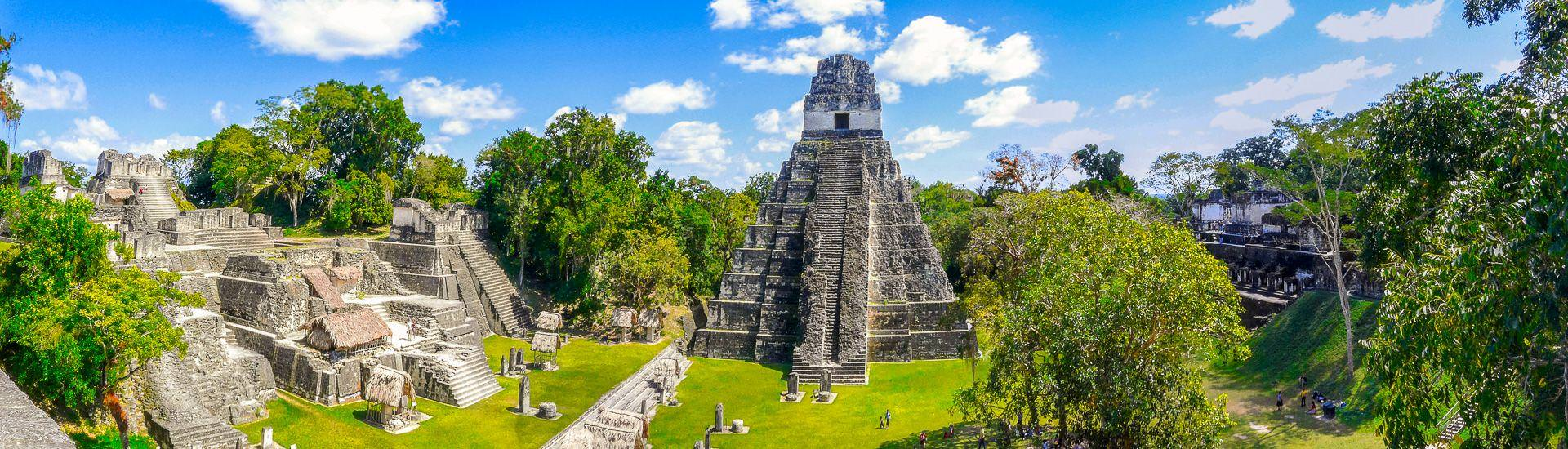 Stufentempel in Tikal (� Hans-Peter Roggetin-Haag / Cham�leon)