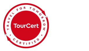 TourCert-Siegel CSR (© Tourcert / Chamäleon)
