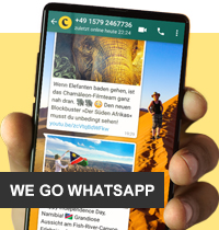 WhatsApp (© Chamäleon)